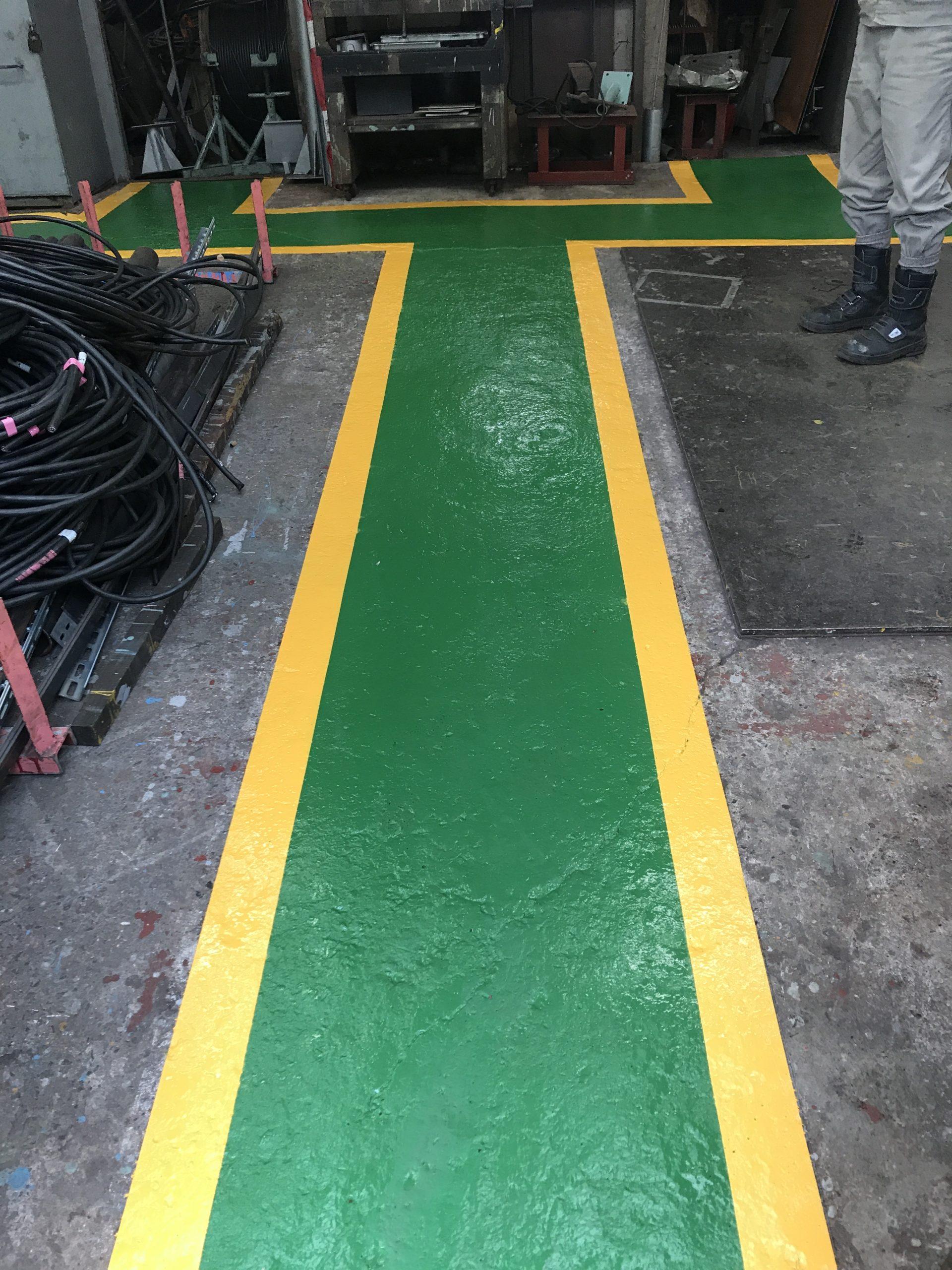 塗り床工事 写真4