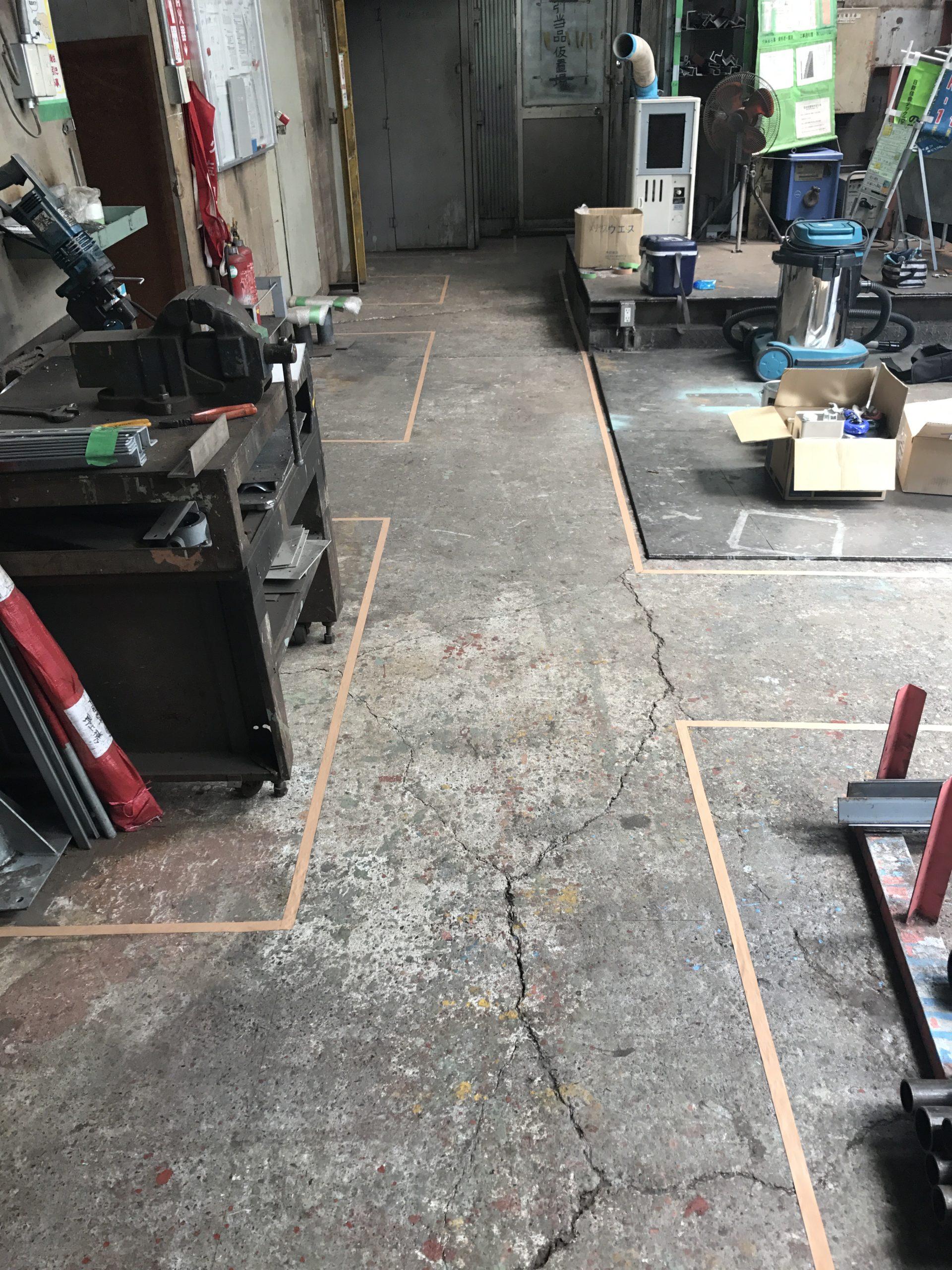 塗り床工事 写真1