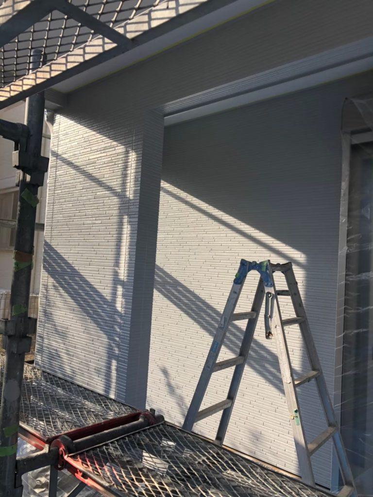 外壁 中塗り完了 写真2