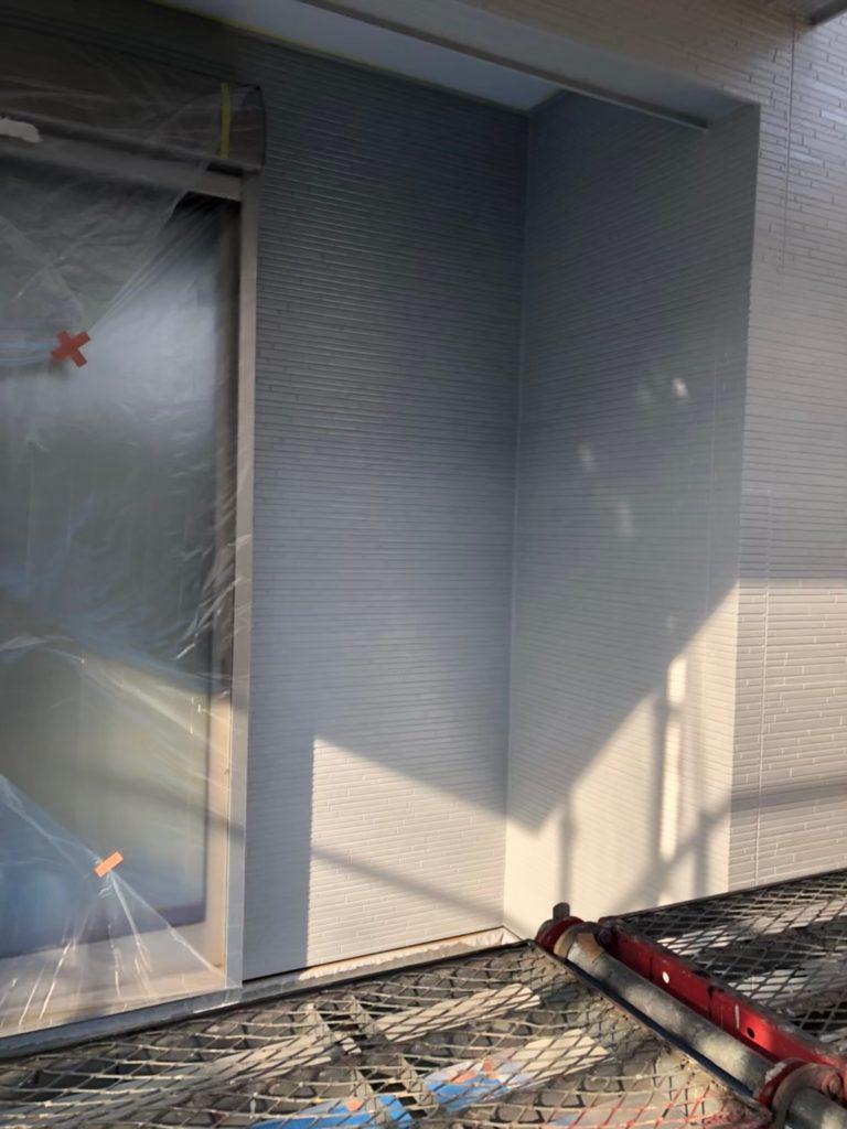 外壁 中塗り完了 写真3
