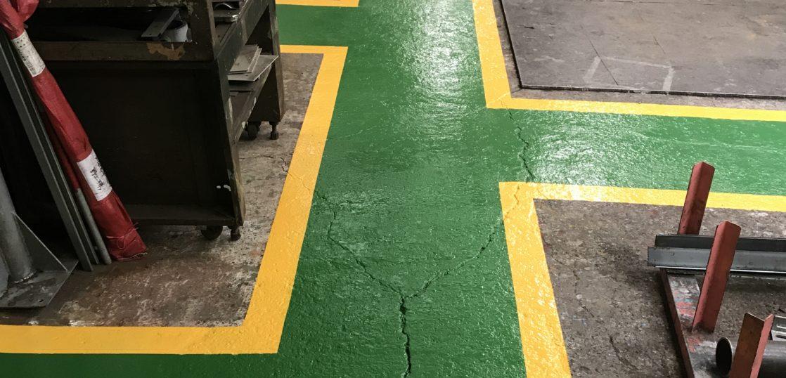 福岡市 工場内塗り床工事
