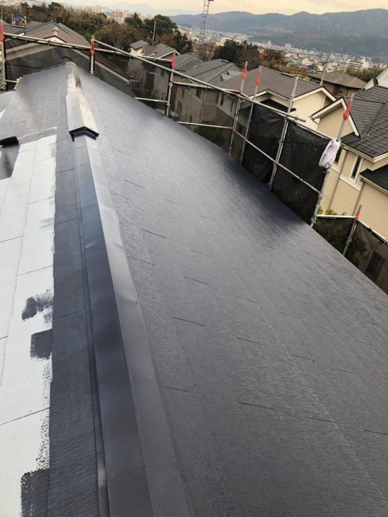 屋根中塗り 写真2