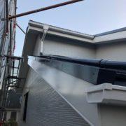 福岡市東区 屋根上塗り・付帯塗装 ベランダ防水塗装