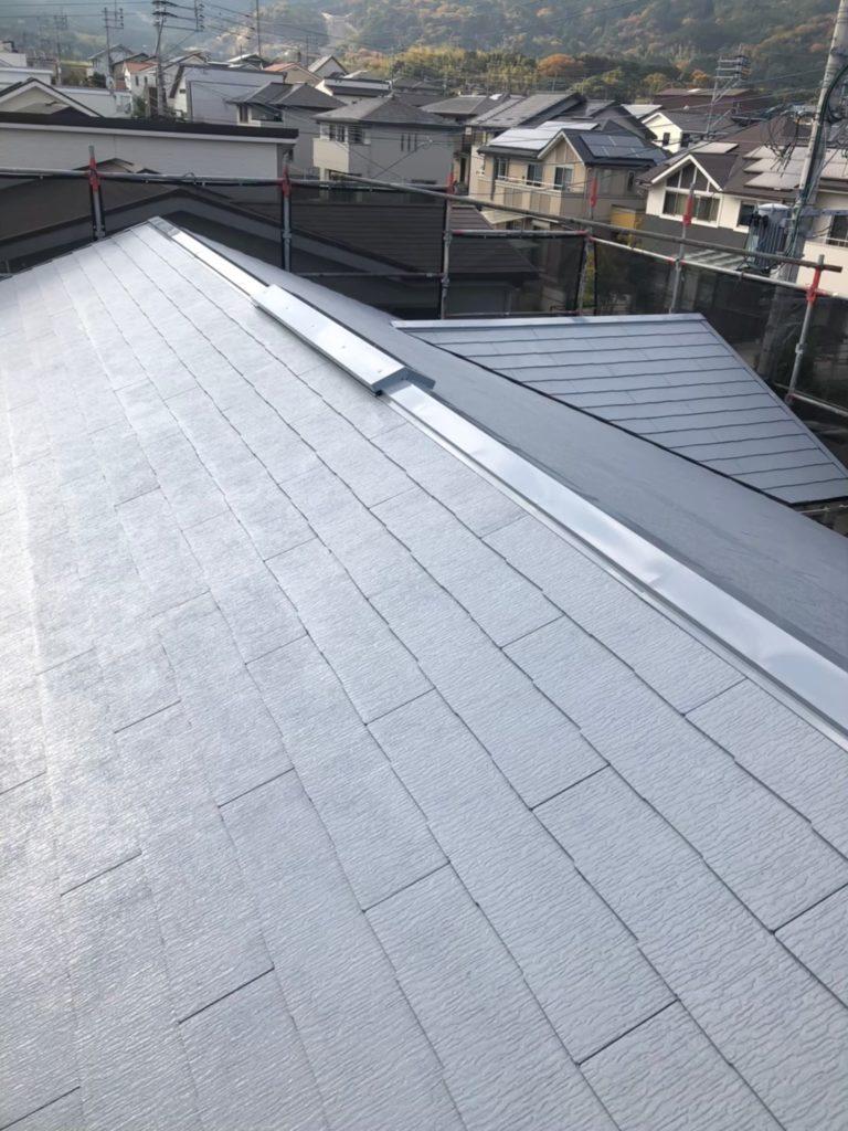 屋根下塗り 写真3