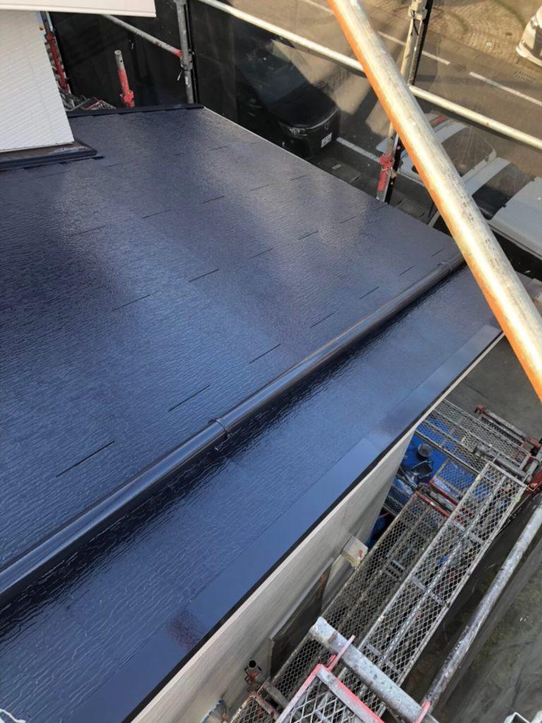 屋根上塗り 写真4