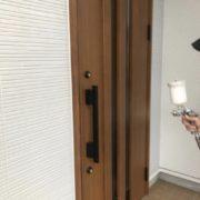 福岡市東区 各所タッチアップ・光触媒コーティング