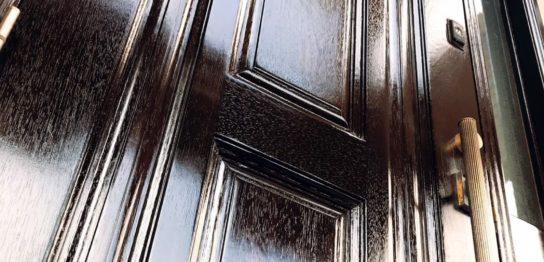 木製品、建具の塗装・玄関ドア編
