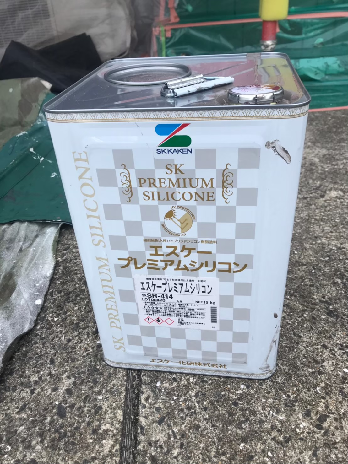 SK化研 プレミアムシリコンSR414