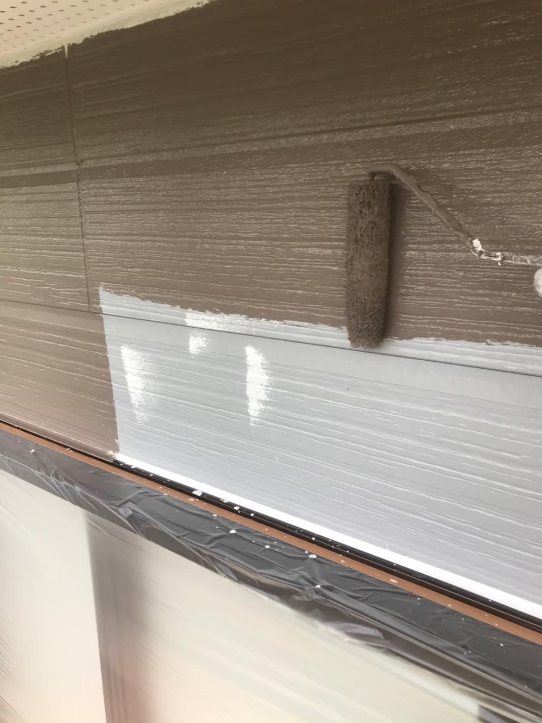 外壁中塗り 写真2
