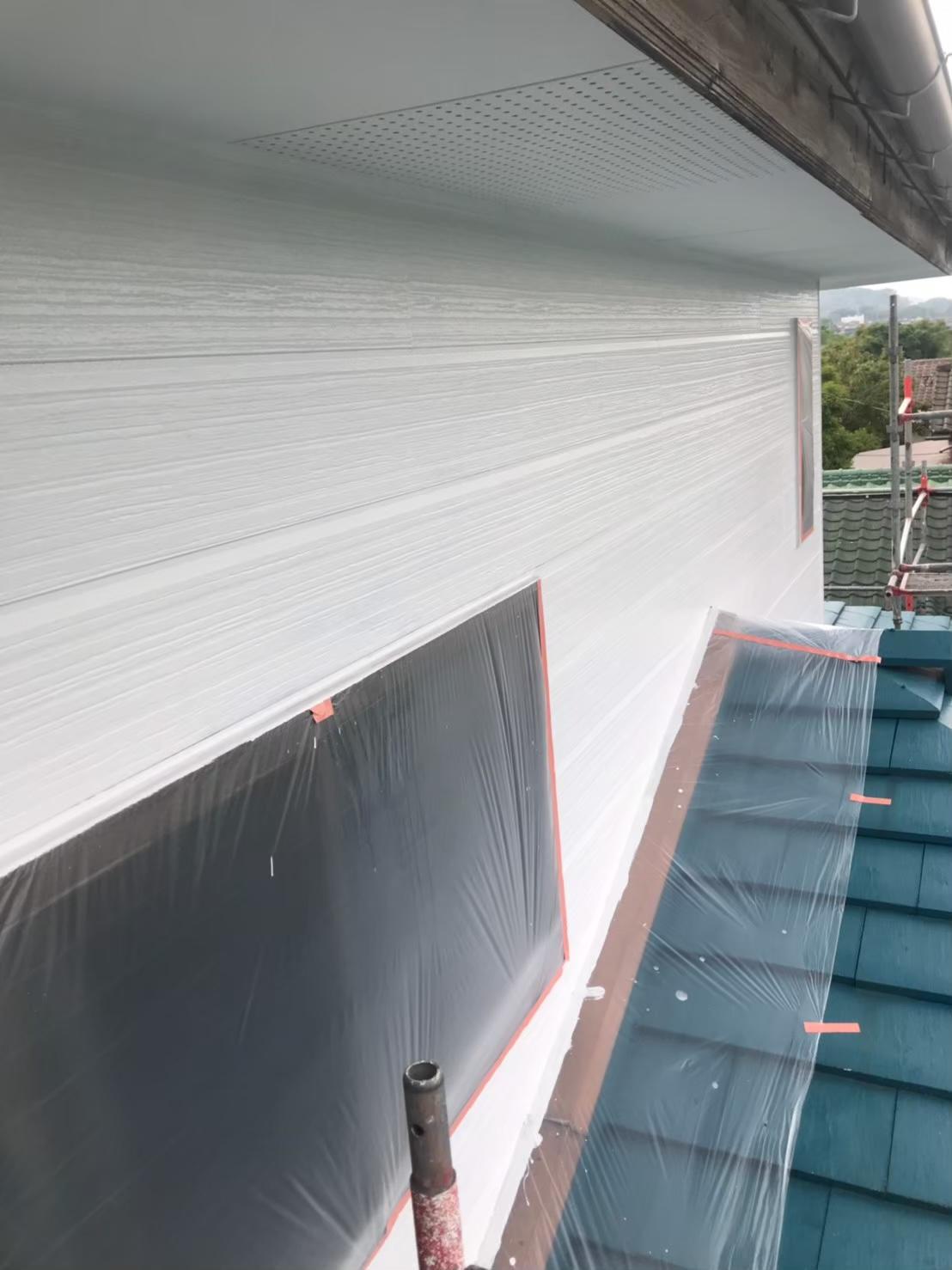外壁中塗り 完了 写真2