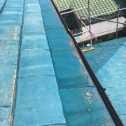 佐賀市 付帯塗装 屋根下塗り