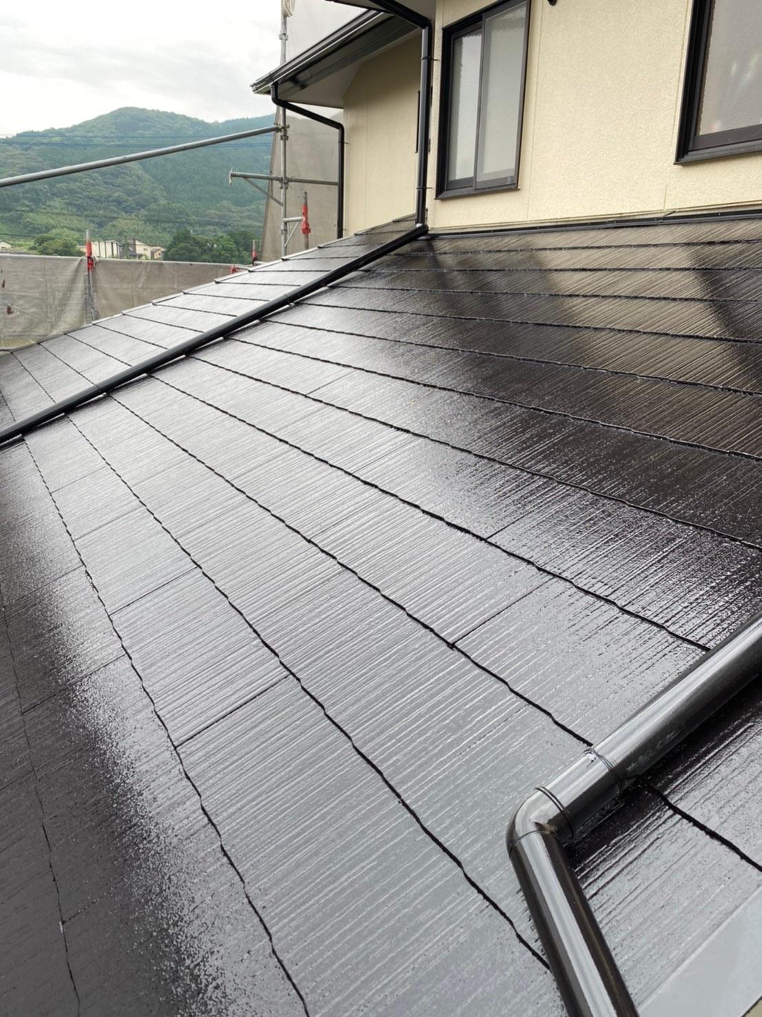屋根中塗り 完了 写真2