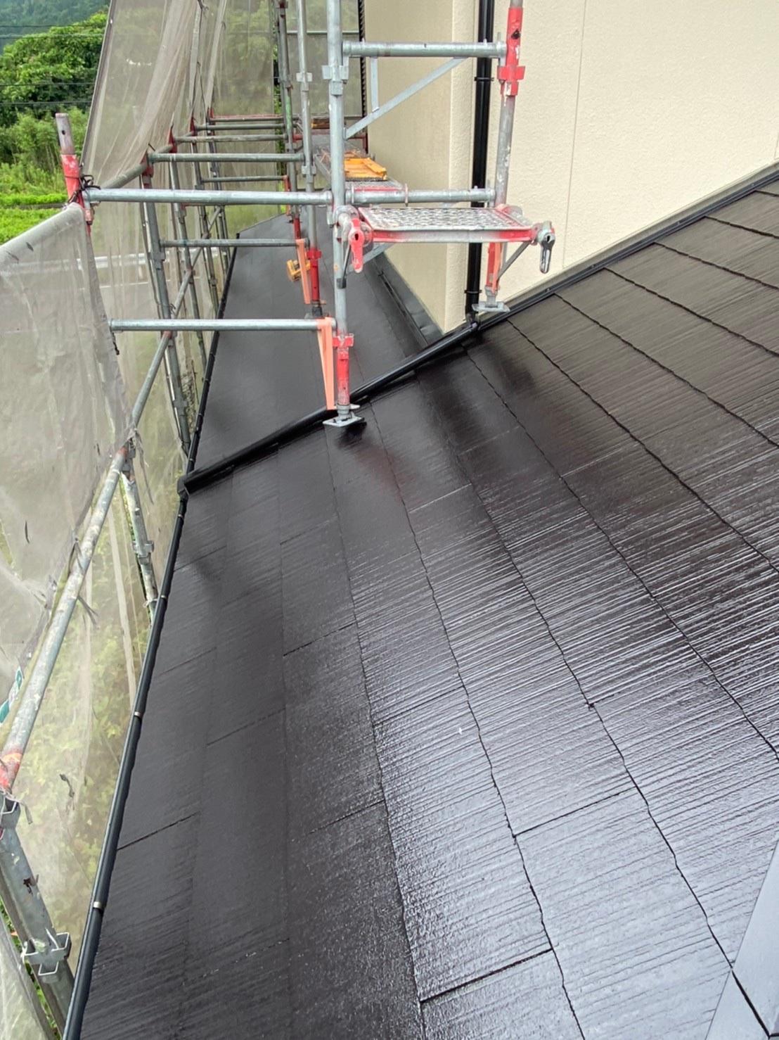 屋根中塗り 完了 写真1