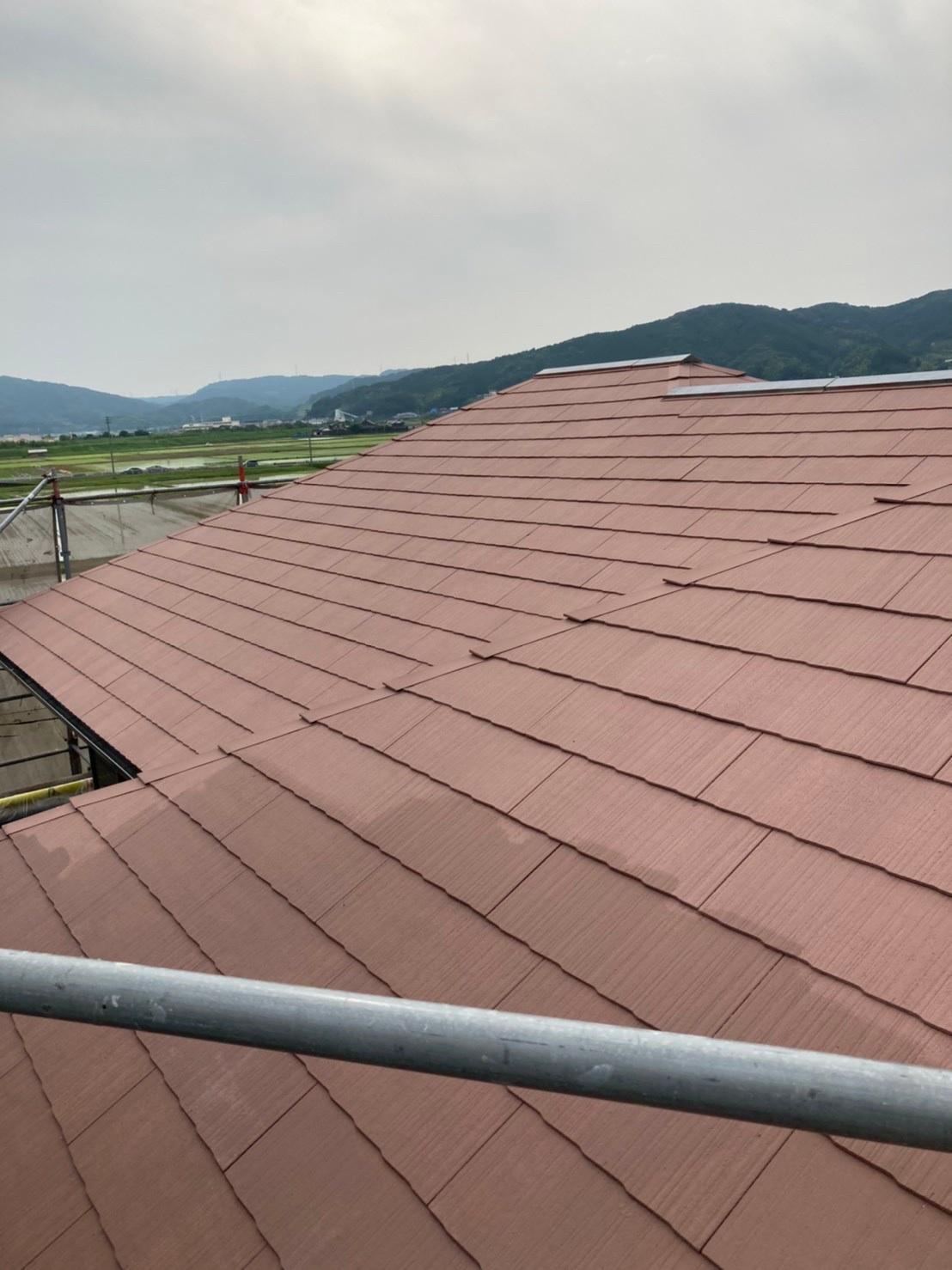 屋根下塗り 完了 写真1