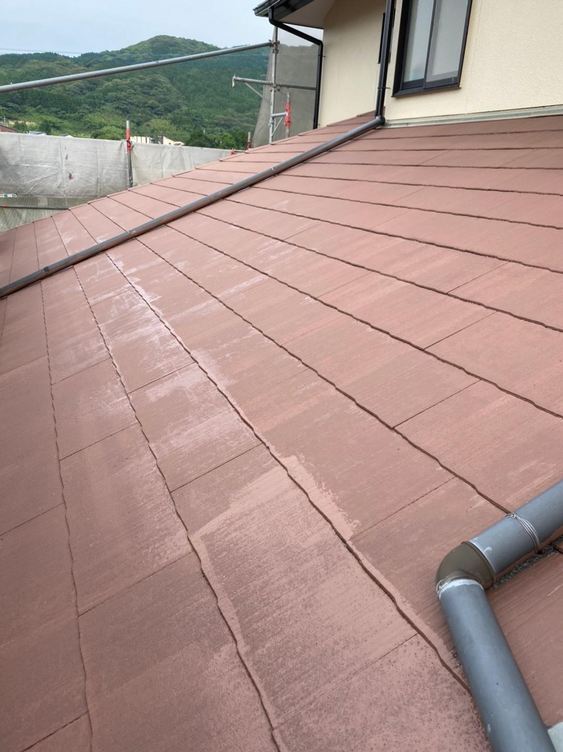 屋根下塗り 完了 写真2