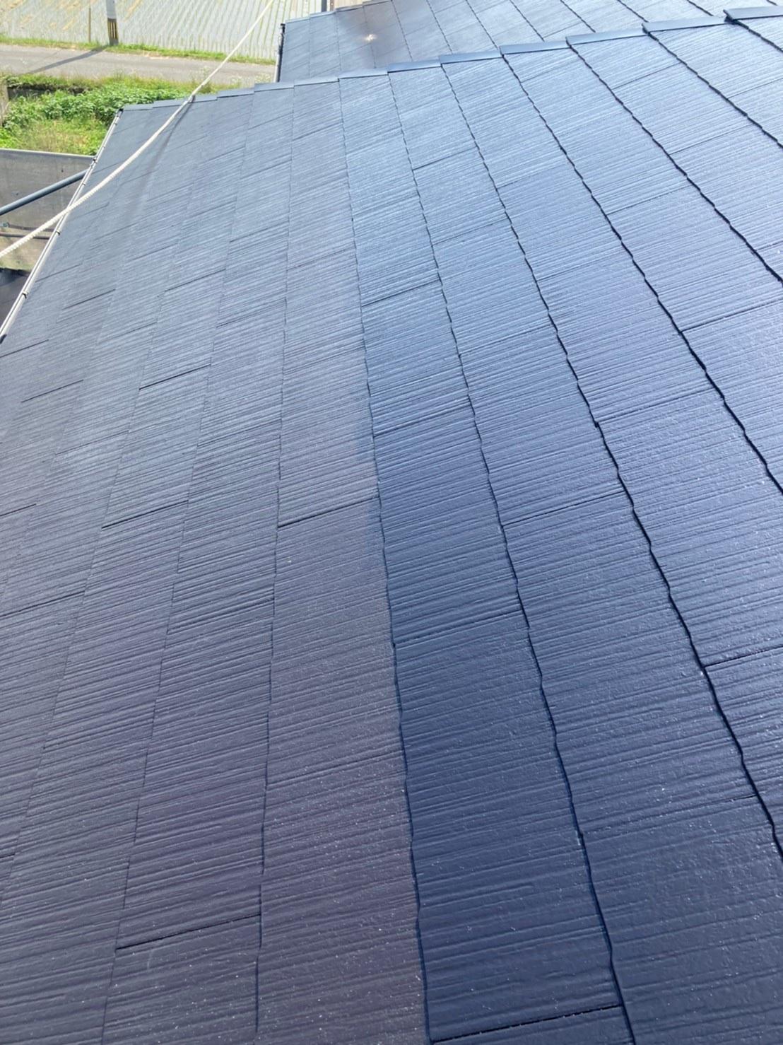 屋根上塗り 写真3