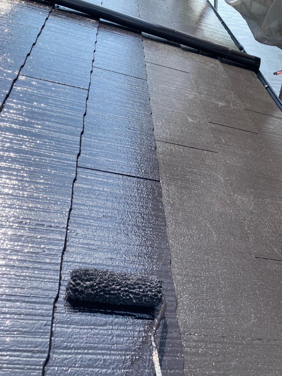 屋根上塗り 写真2