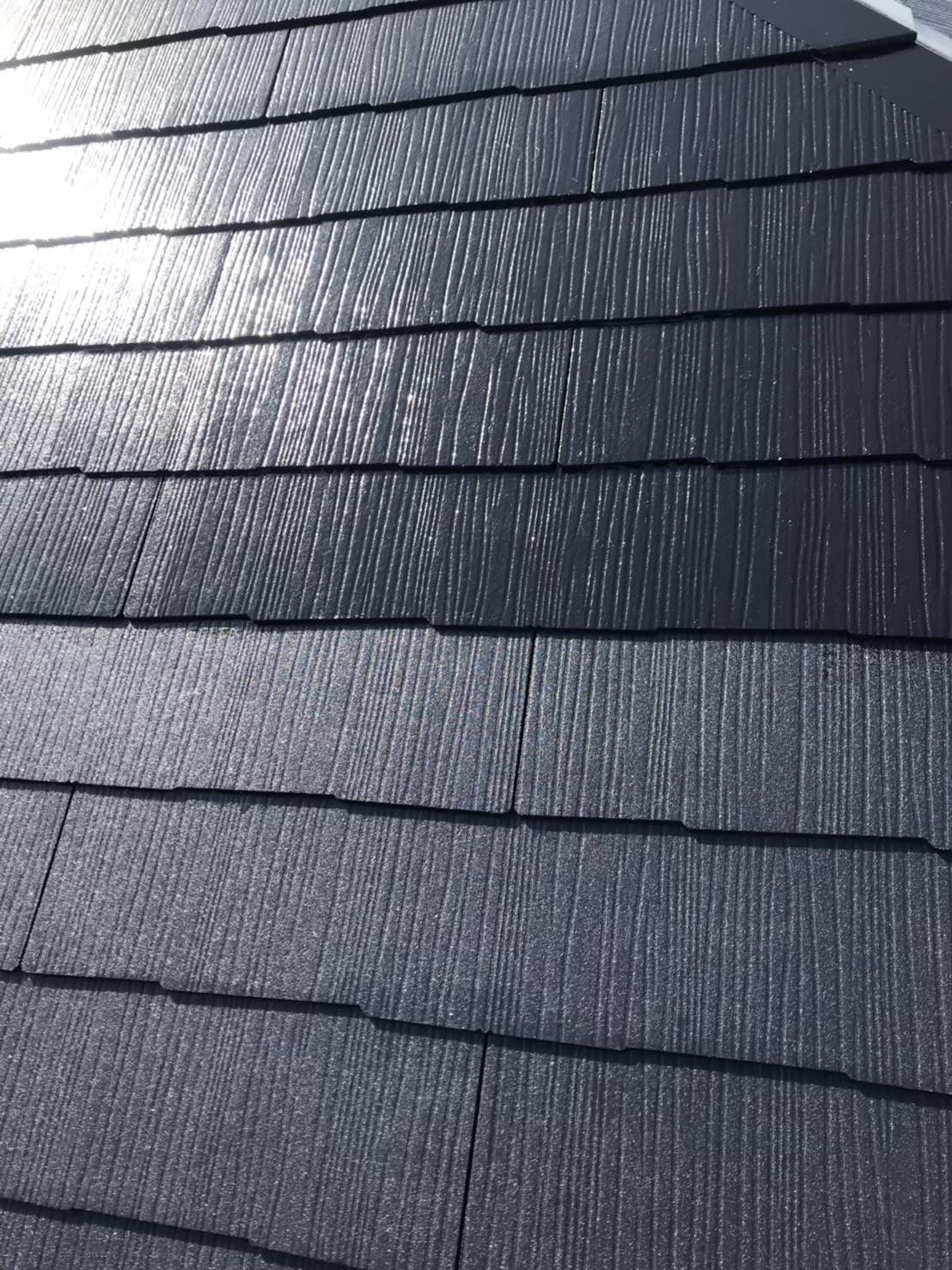 福岡市南区 屋根上塗り 写真3