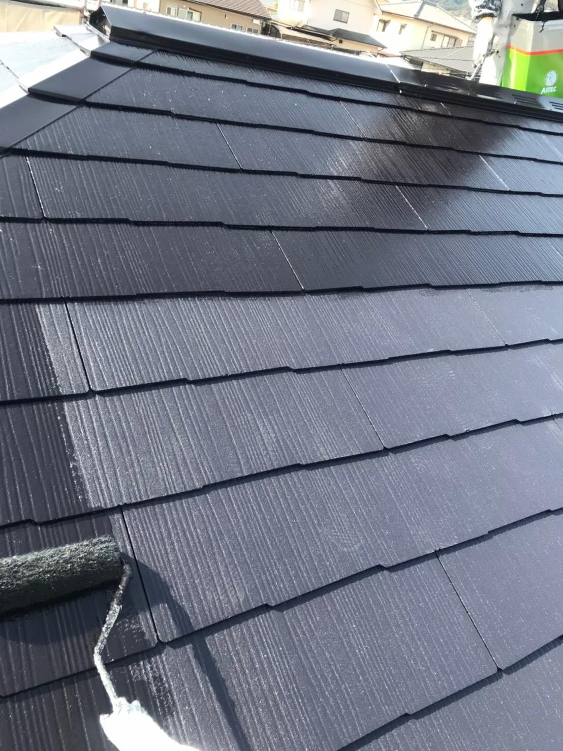 福岡市南区 屋根上塗り 写真2