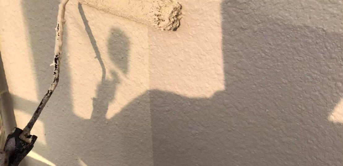 福岡市南区 外壁上塗り