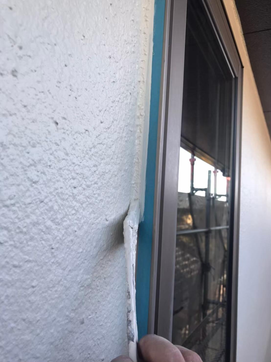 福岡市南区 窓周り ライン出し 写真2