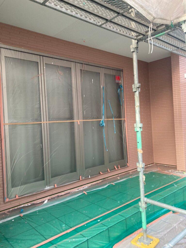 久留米市 サイディング隙間埋めと外壁の中塗り・上塗り 写真19