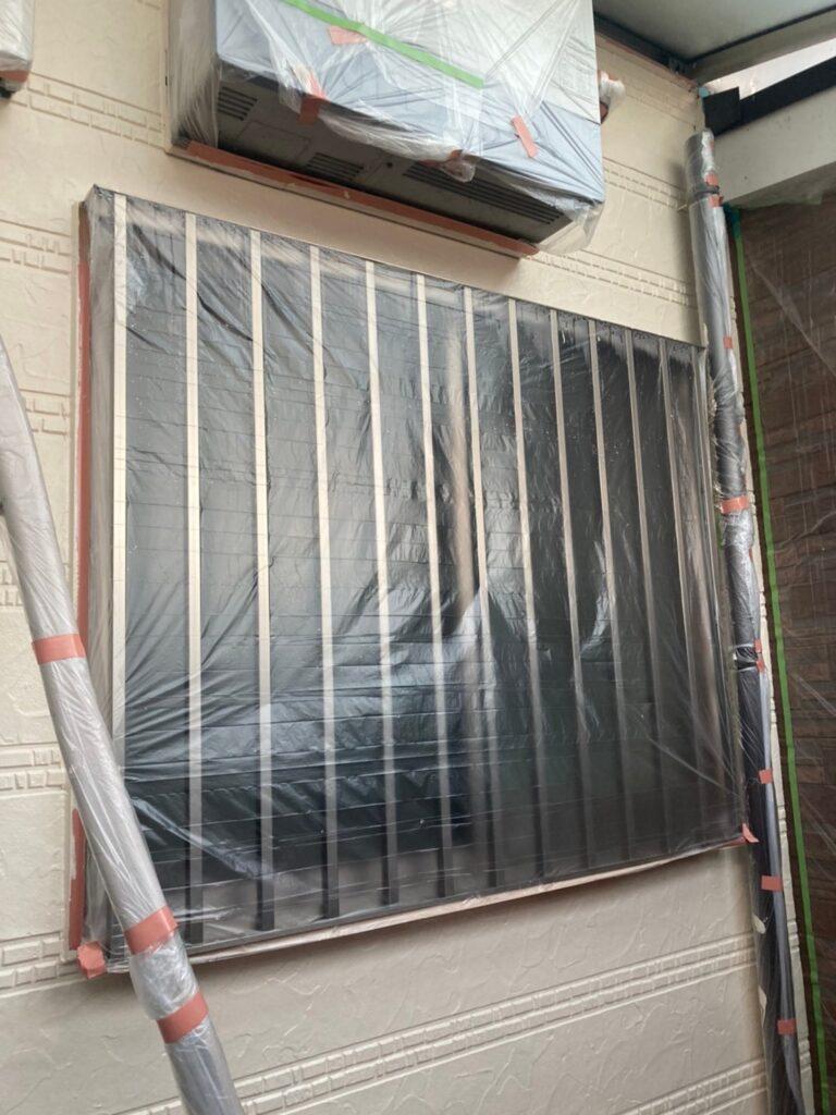 久留米市 サイディング隙間埋めと外壁の中塗り・上塗り 写真4