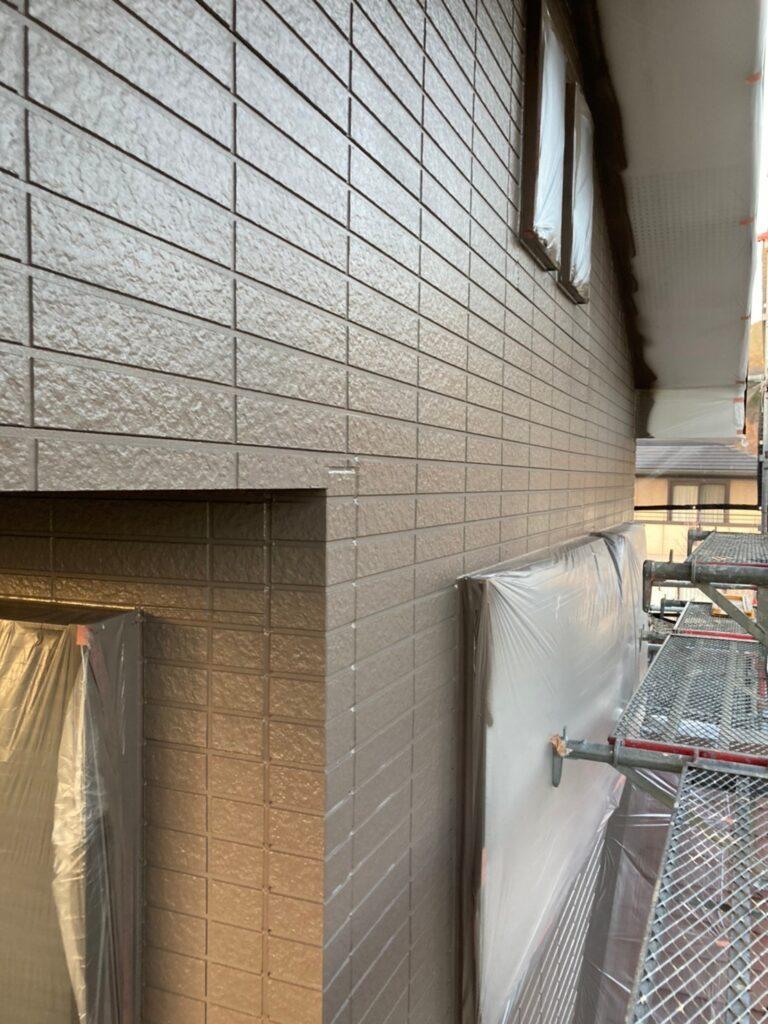 佐賀市 外壁の下塗りと中塗り 写真11