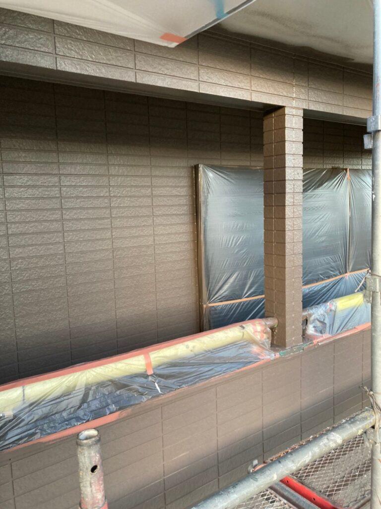 佐賀市 外壁の下塗りと中塗り 写真14