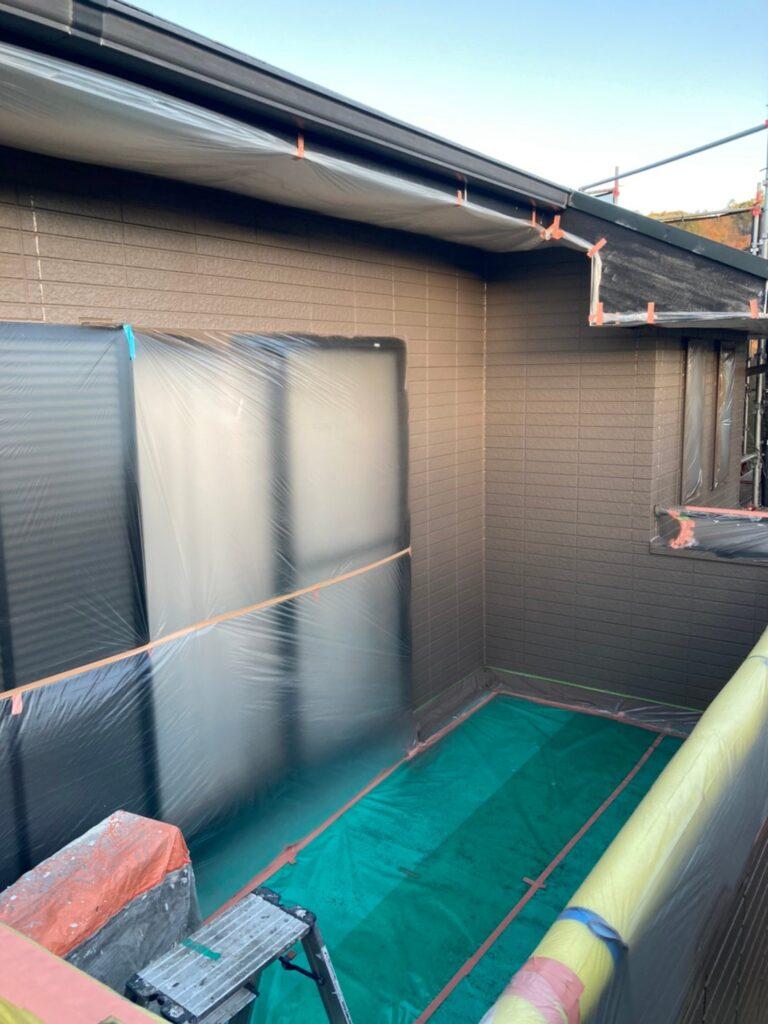 佐賀市 外壁の下塗りと中塗り 写真15