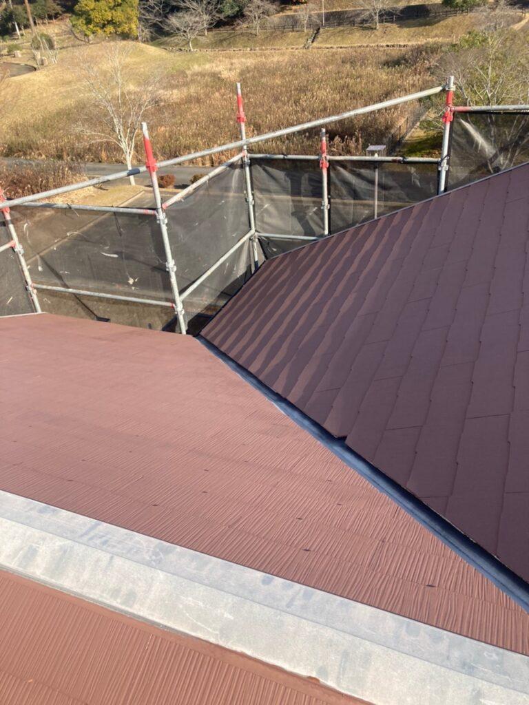 佐賀市 外壁上塗りと屋根下塗り 写真10