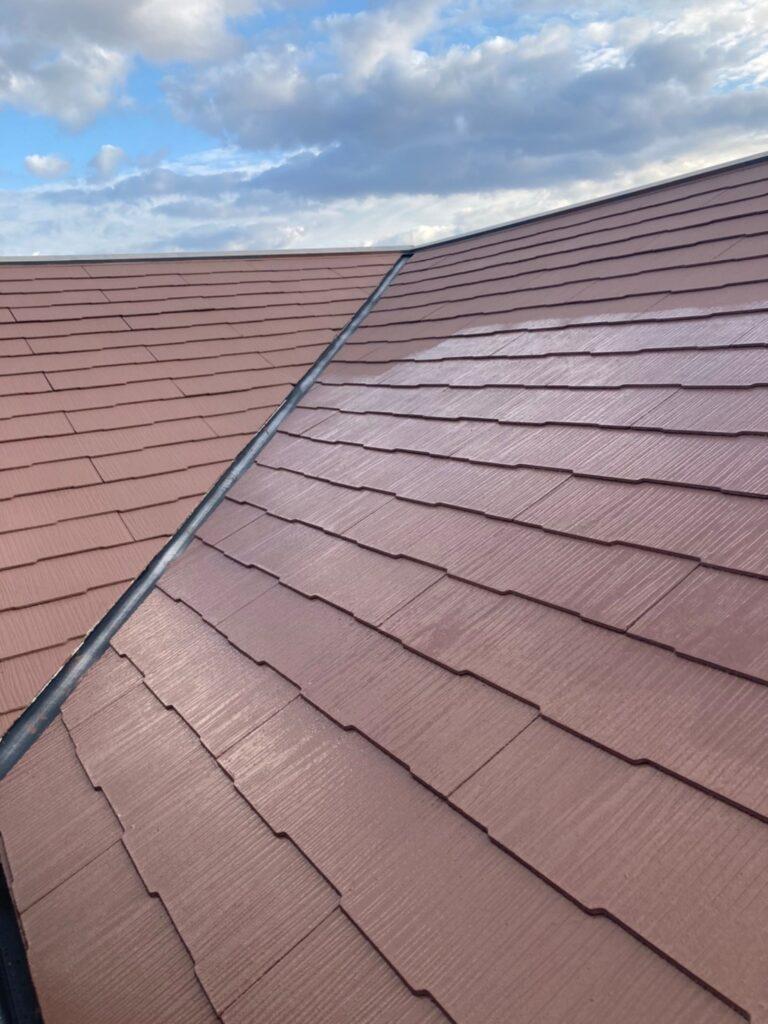 佐賀市 外壁上塗りと屋根下塗り 写真11