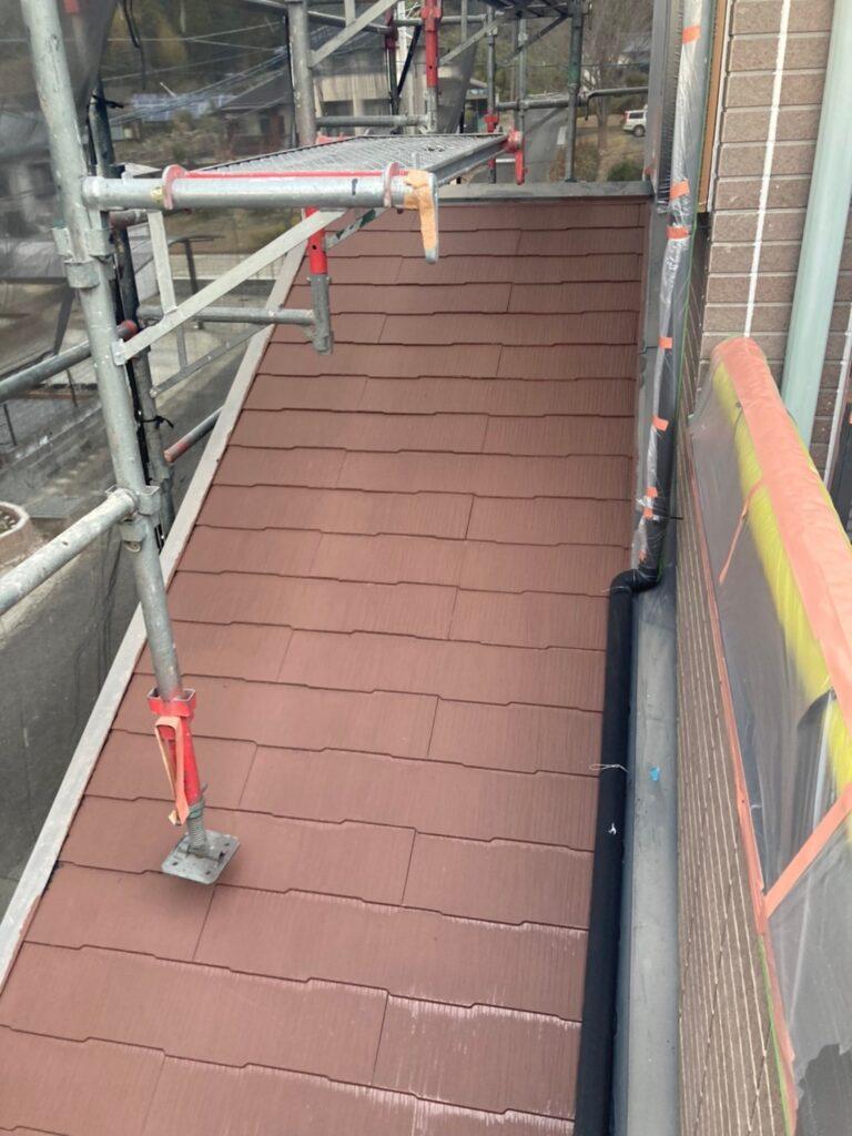 佐賀市 外壁上塗りと屋根下塗り 写真14