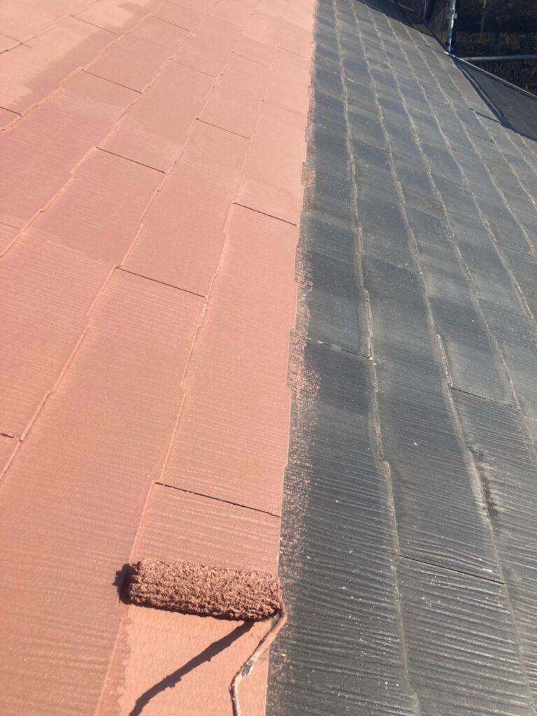 佐賀市 外壁上塗りと屋根下塗り 写真7