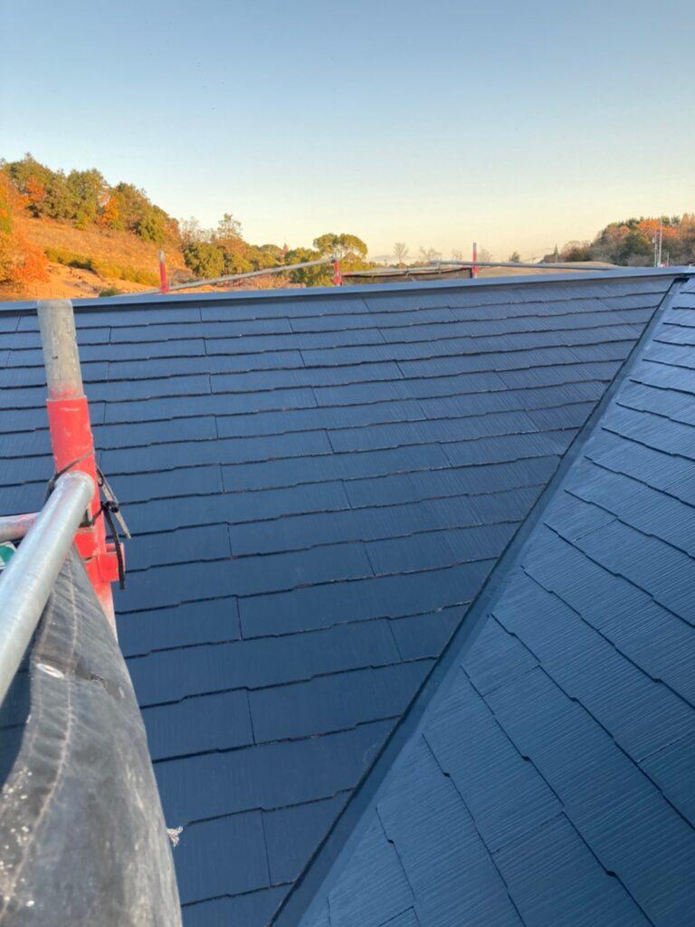 佐賀市 屋根中塗りと付帯塗装 写真5