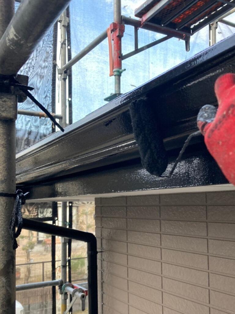 佐賀市 屋根中塗りと付帯塗装 写真7