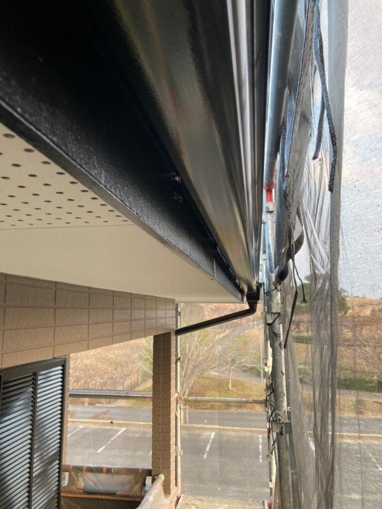 佐賀市 屋根中塗りと付帯塗装 写真8