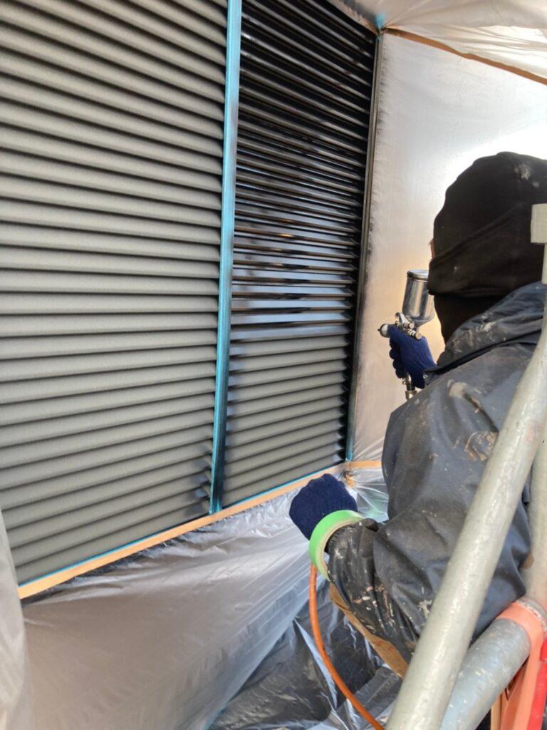 佐賀市 屋根上塗り・雨戸塗装・ベランダ塗装 写真10