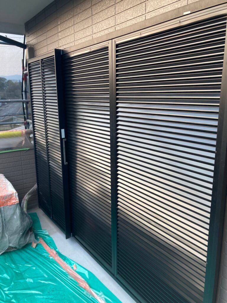 佐賀市 屋根上塗り・雨戸塗装・ベランダ塗装 写真12