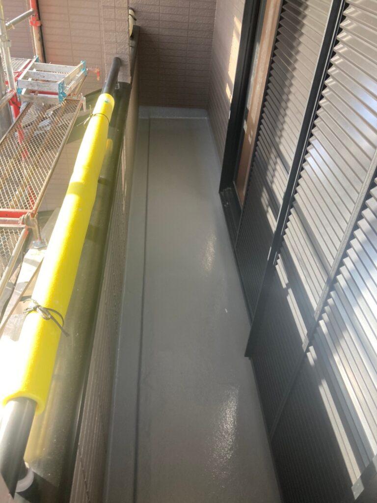 佐賀市 屋根上塗り・雨戸塗装・ベランダ塗装 写真7