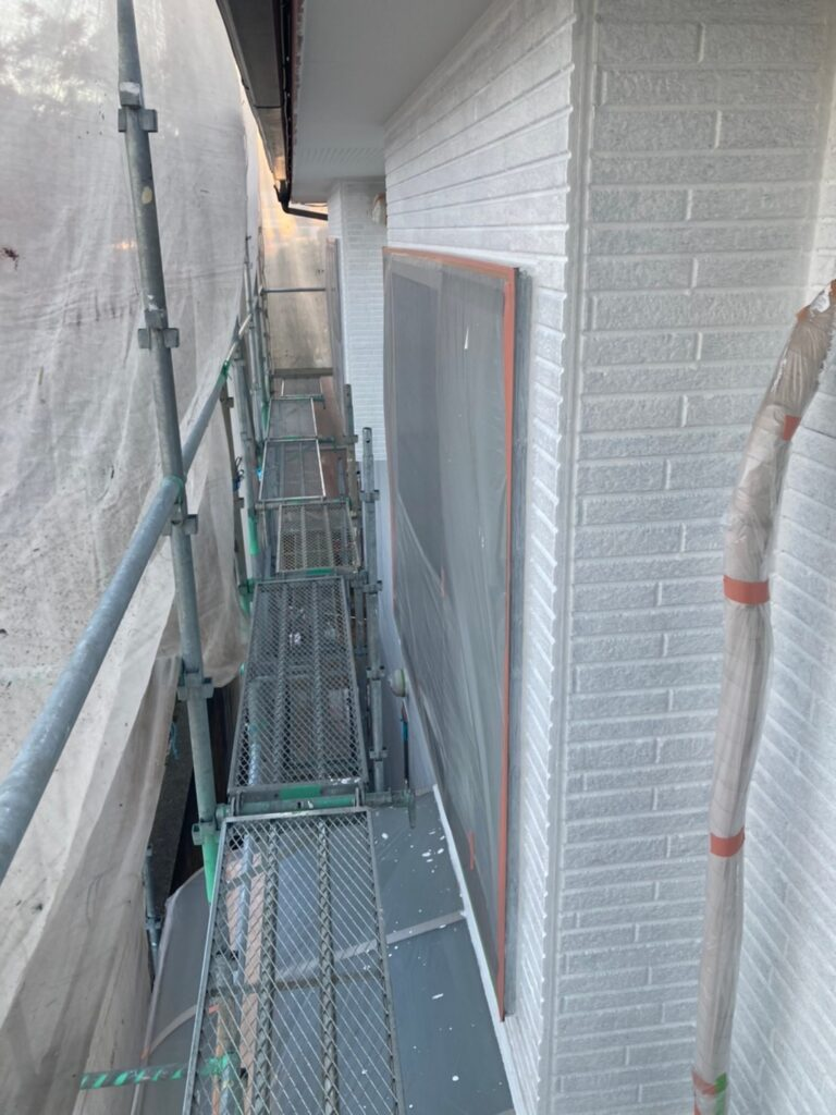 久留米市 続:外壁下塗り 写真10
