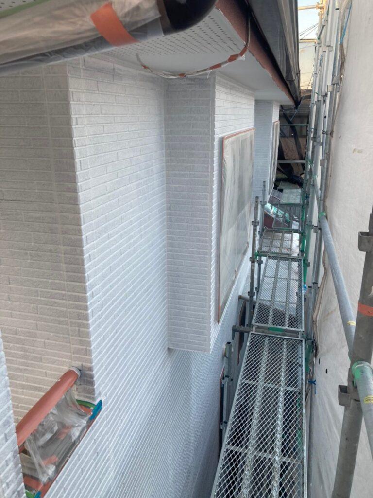 久留米市 続:外壁下塗り 写真11