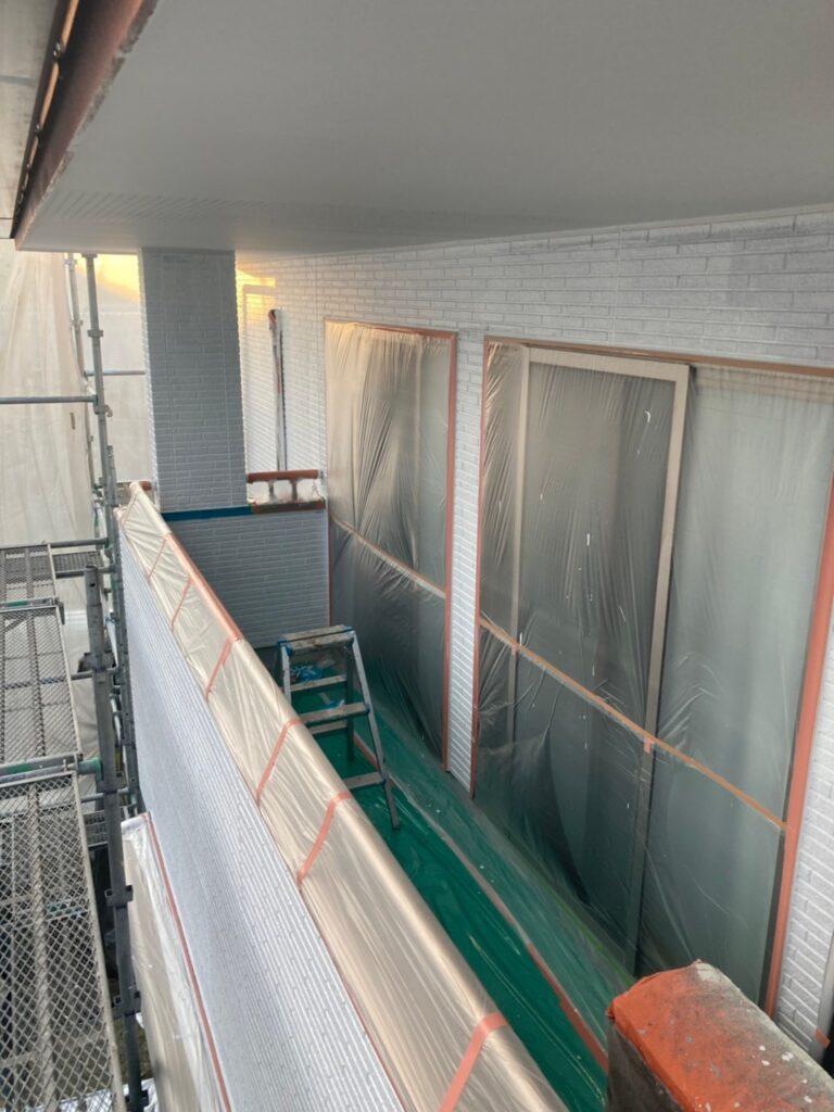 久留米市 続:外壁下塗り 写真12