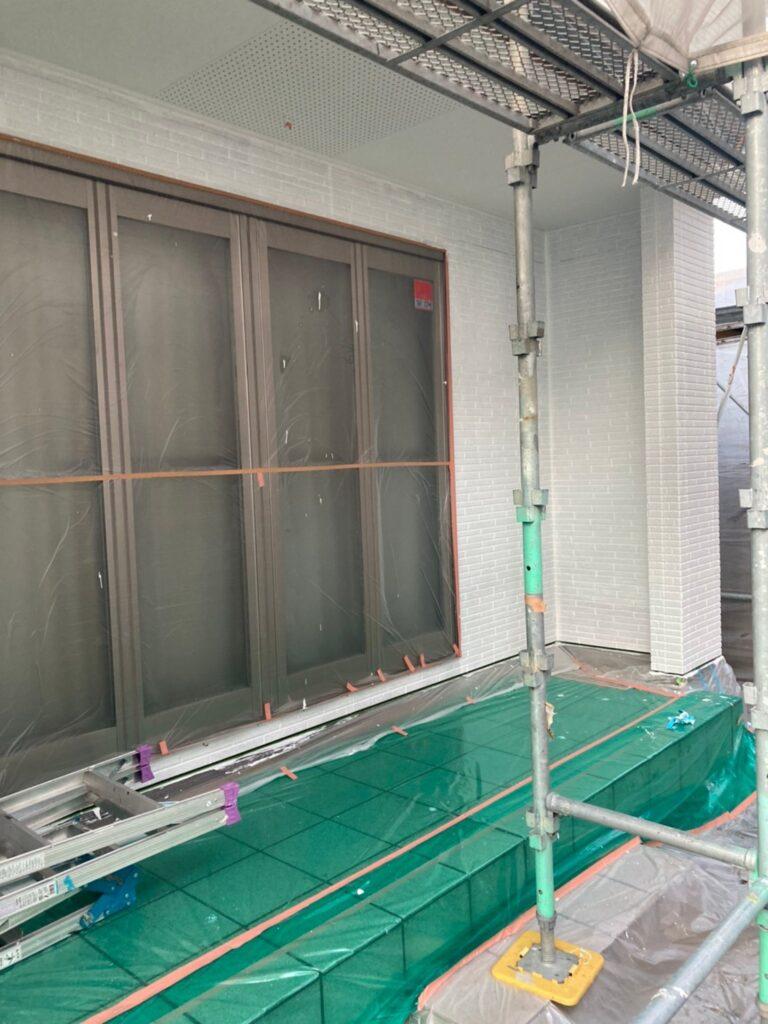 久留米市 続:外壁下塗り 写真14