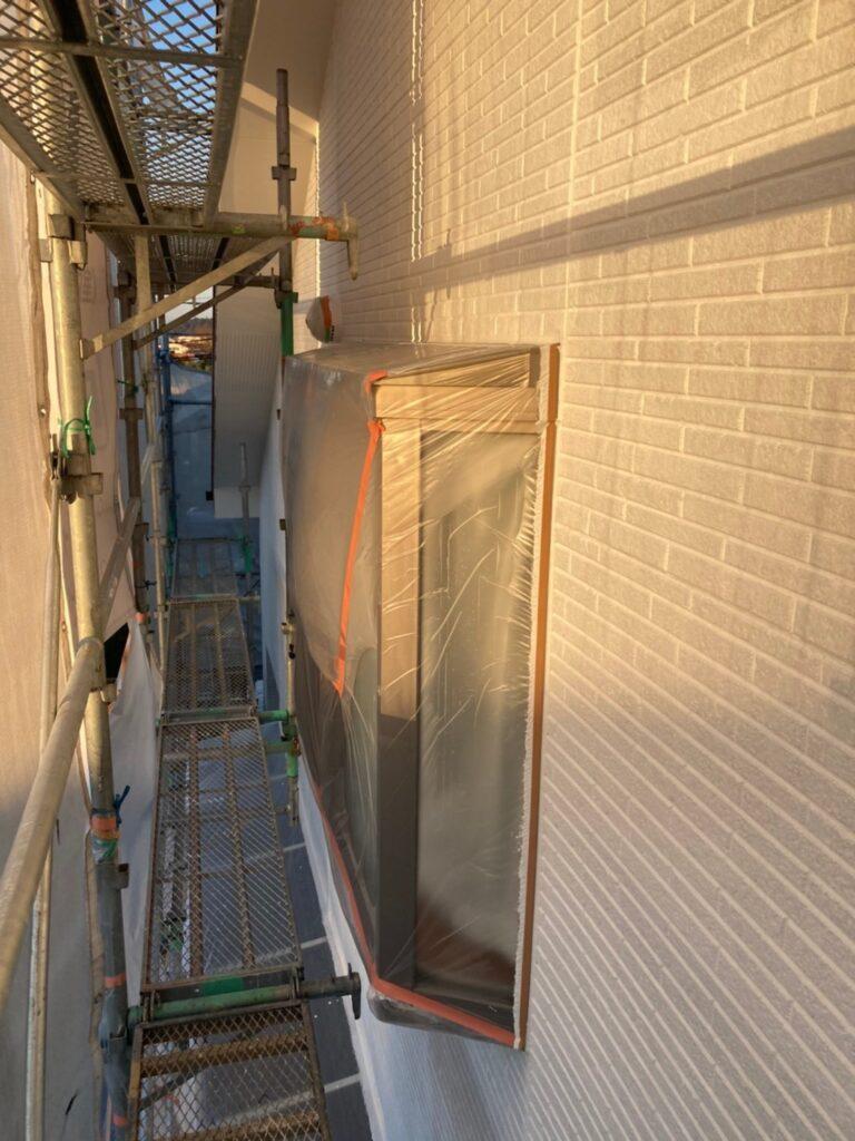 久留米市 続:外壁下塗り 写真15