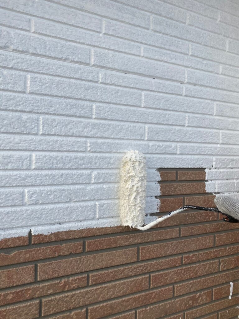久留米市 続:外壁下塗り 写真2