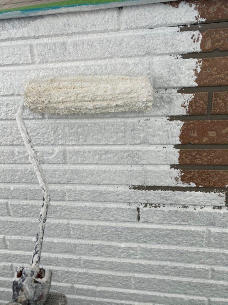 久留米市 続:外壁下塗り 写真6
