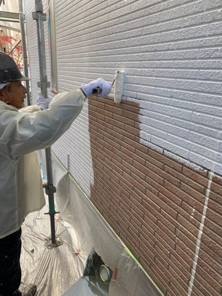 久留米市 続:外壁下塗り 写真7