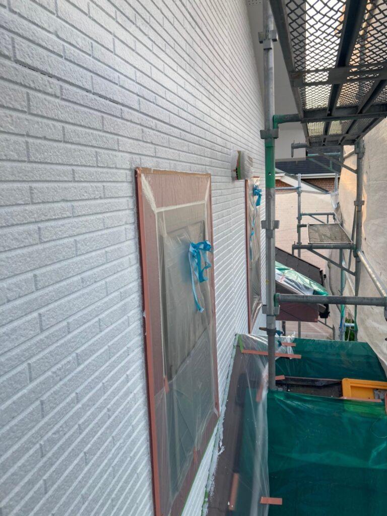 久留米市 続:外壁下塗り 写真9