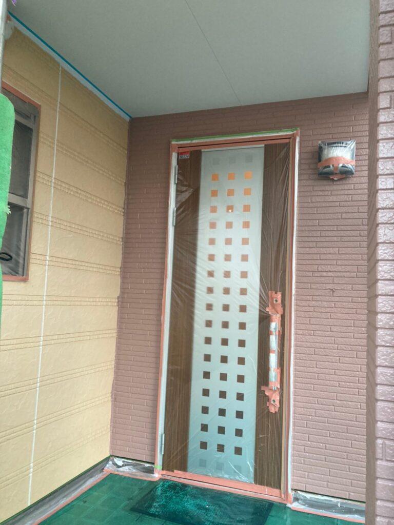 久留米市 外壁中塗り 写真14